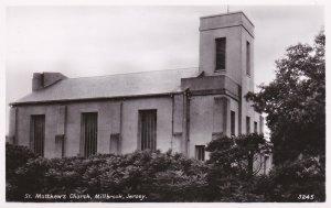 RP: MILLBROOK, Jersey, 1930-40s; St. Matthew's Church