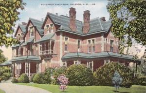 Governors Mansion Raleigh North Carolina 1959