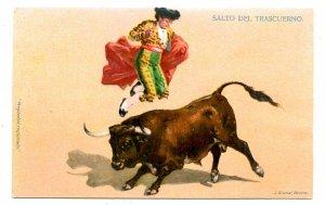 Bullfighting - Leap of the Horn
