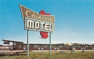 Chinook Motel , Lethbridge , Alberta , Canada  , 50-60s