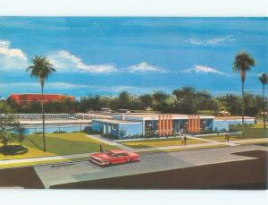 Unused Pre-1980 LAWN BOWLING CLUB BUILDING Orlando Florida FL E7718