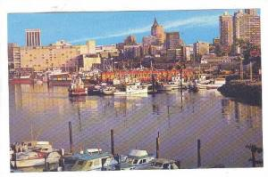 Harbour And Pleasure Boats, Vancouver, British Columbia, Canada, 1940-1960s