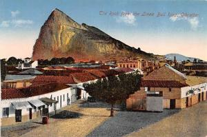 Gibraltar Rock from the Linea Bullf Ring  Rock from the Linea Bullf Ring