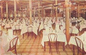 Henderson's Dining Room Coney Island, NY, USA Amusement Park 1910