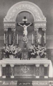 RP: OLIVET , Illinois, 1930-40s ; La Salette Seminary, Main Altar