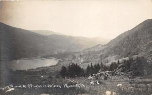 Plymouth Vermont~Reservoir View~Mount Killington in Distance~c1915 RPPC-Postcard