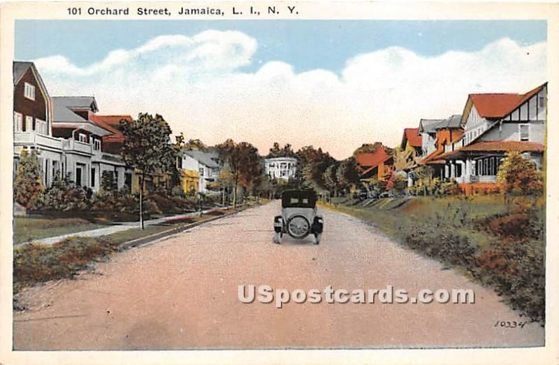 Orchard Street Jamaica, L.I. NY Unused