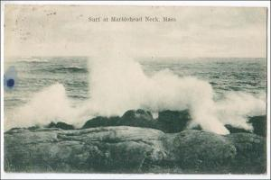 Surf at Marblehead Neck MA