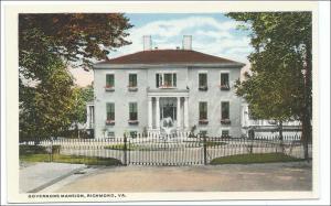Gov Mansion, Richmond VA