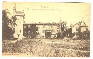 Facade, Chateau De Saint-Blancard (Gers), France, 1900-1910s