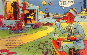 C150 Ray Walters Comic Postcards Naughty Curt Teich Postcard