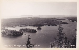 RP; PRINCE RUPERT, British Columbia, Canada: View from Mt. Hays, 30-50s