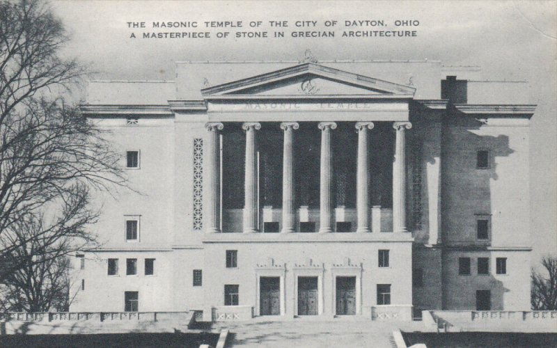 DAYTON, Ohio, 1930-1940's; The Masonic Temple