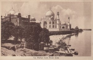 TAJ MAHAL from River Side , India , 00-10s