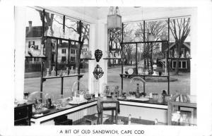 Sandwich Massachusetts Cape Cod Souvenir Shop Real Photo Postcard K104627
