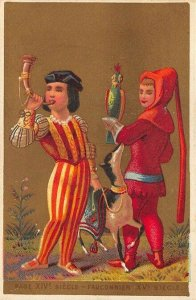 Page XIV Siegle Fauconnier Casiez & Bourgeois 3 x 4.5 Trade Card