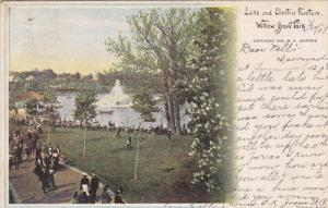 Lake and Electric Fountain, WILLOW GROVE PARK, Pennsylvania, 00-10s
