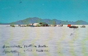 Utah Bonneville Salt Flats Worlds Fastest Speedway Wendover Utah And Nevada