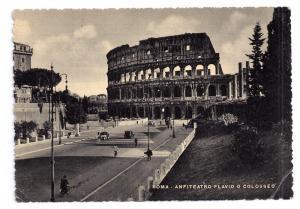 Italy Roma Colosseo Colosseum Capello Postcard