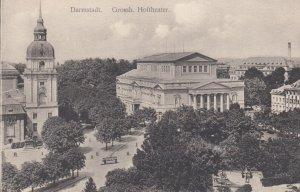 DARMSTADT (Hesse), Germany, 1900-1910s : Grossh. Hoftheater