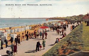 Sunderland, Seaburn Beach and Promenade 1956