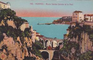 Ravin Sainte-Devote Et Le Port, Monaco, 1900-1910s