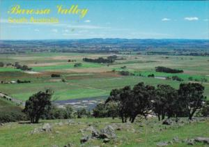 Australia Barossa Valley General View Looking West From Menglers Hill