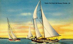 Sailing in Sunny Florida