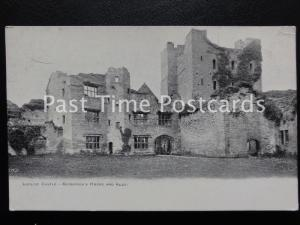 c1902 - Ludlow Castle - Governor's House and Keep - Undivided Back 160515