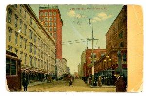 RI - Providence. Dorance Street      (creases)