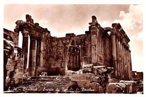 Baalbeck, Syria Postcard, Syrie Turquie, Postale, Universelle, Carte Entre du...