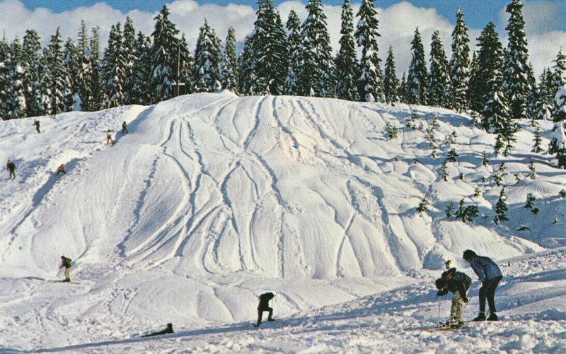 HOOLYBURN MOUNTAIN, B.C. , Canada , 50-60s; Snow Skiing