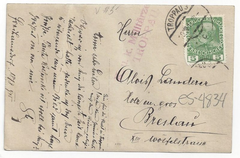 RP  Austrian Soldier , Troppau (now Opava), Austria (now Czech Republic) , PU...