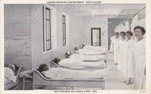 HOT SPRINGS, Arkansas, 1900-1910's; Ladies Bathing Department, Bath House, Ho...
