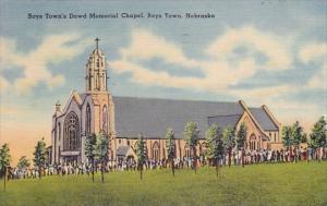 Nebracka Boys Town's Dowd Memorial Chapel 1942
