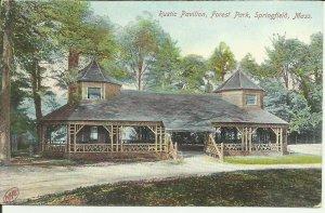 Rustic Pavilion, Forest Park, Springfield, Mass