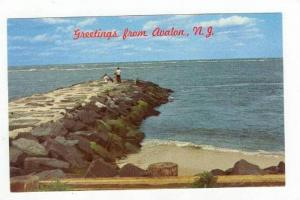 Stone Jetty, Avalon, New Jersey, 1940-60s