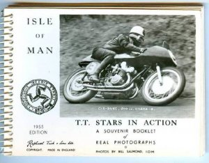 RP, Souvenir Booklet Containing Motorcycle Racing, T. T. Stars In Action, Isl...