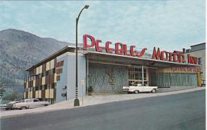 NELSON, British Columbia, Canada, 1950-1960s; Peebles Motor Inn, Downtown