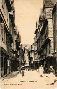 CPA Morlaix- Grande Rue FRANCE (1026041)