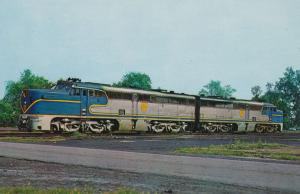 Alco PA-2 Delaware & Hudson Railroad Locomotives at Colonie NY, New York in 1968