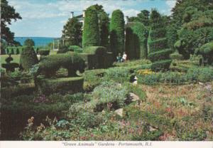 Rhode Island Portsmouth Green Animals Topiary Gardens