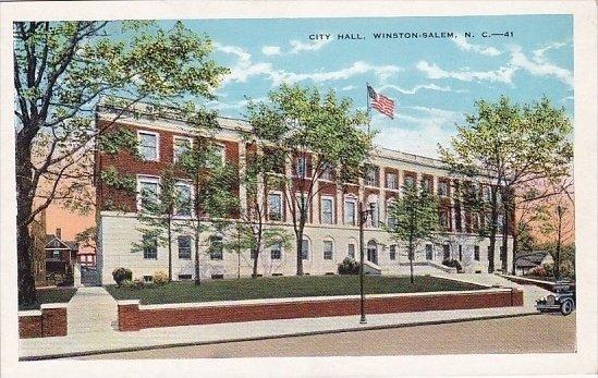 City Hall Winston Salem North Carolina