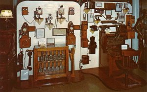 NE - Minden. Pioneer Village. Telephones & Switchboards