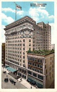 Minnesota Minneapolis Hotel Radisson 1921