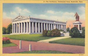 Tennessee Nashville The Panthenon Centennial Park Curteich