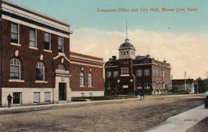 MOOSE JAW , Saskatchewan, Canada , 00-10s ; Telephone Office & City Hall
