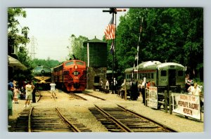 Whippany NJ, Whippany Railway Museum, Chrome New Jersey Postcard
