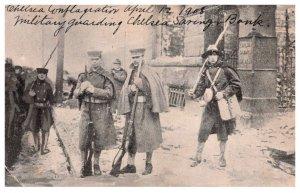 Massachusetts  Chelsea Conflagration  April 12,1908 Military guarding Chelsea...