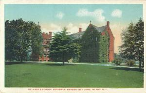 St. Mary's School for Girls Garden City Long Island NY W/B